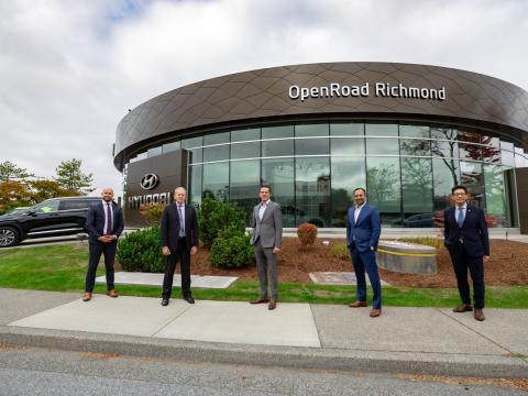 OpenRoad Opens Largest Hyundai Dealer in Western Canada