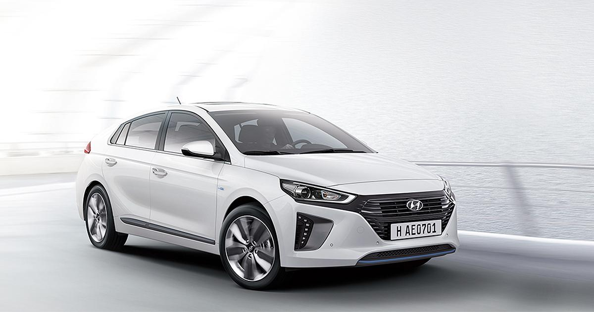 Ioniq Hybrid at Hyundai Richmond