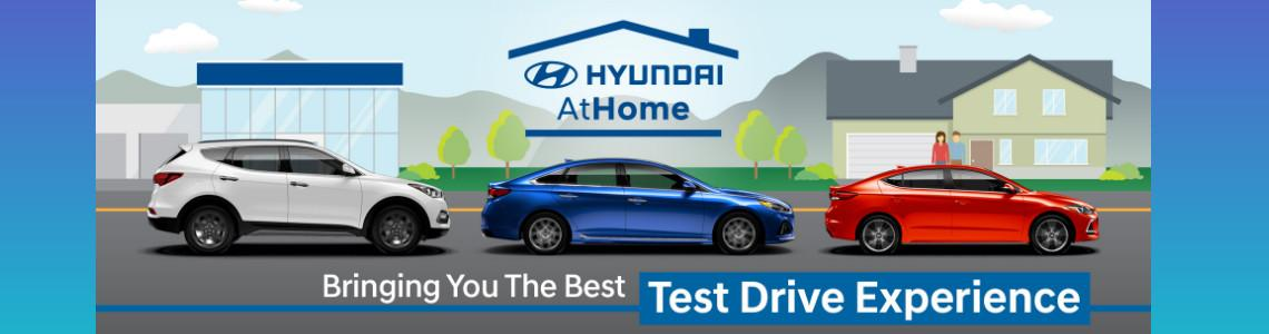At Home or Work Test Drive at Openroad Hyundai Richmond